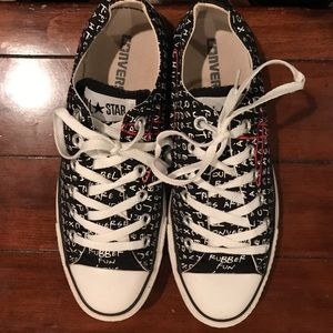 66f870575495 Converse Shoes - CONVERSE CHUCK TAYLOR WORD-SEARCH. W 9 and M 7.